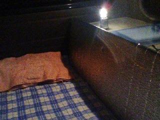 ハーフサイズ寝床
