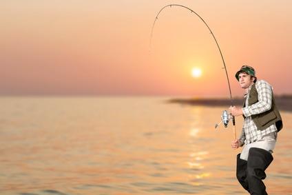 釣りマナー大物