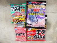 調合粉餌(集魚剤)