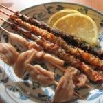 ボラ串焼き珍味