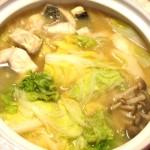 ボラ味噌生姜鍋