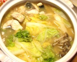 ボラの味噌生姜鍋のTOP写真