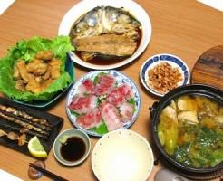 ボラ料理フルコース_TOP写真