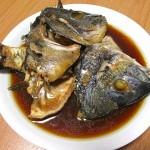 黒鯛(チヌ)のアラ煮