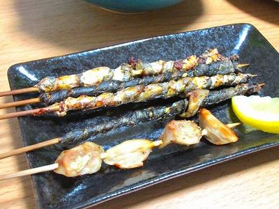 6_ボラの串焼き珍味