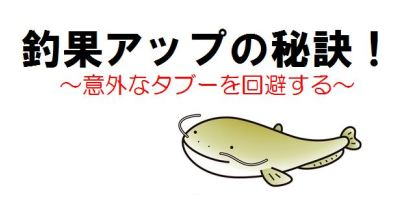 0_釣果アップの秘訣(タブー編)TOP写真