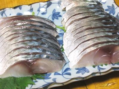 しめ鯖(細く切る)